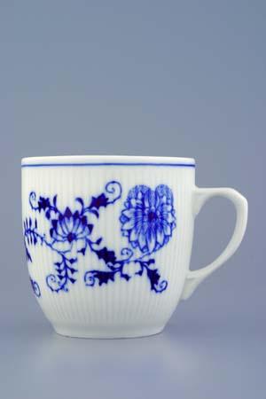 Cibulák hrnek Martin M 0,27 l originální cibulákový porcelán Dubí, cibulový vzor, 1.jakost
