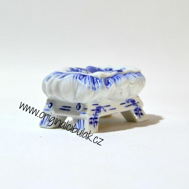 Cibulák Jesličky 5,5 cm originální cibulákový porcelán Dubí, cibulový vzor, 1.jakost