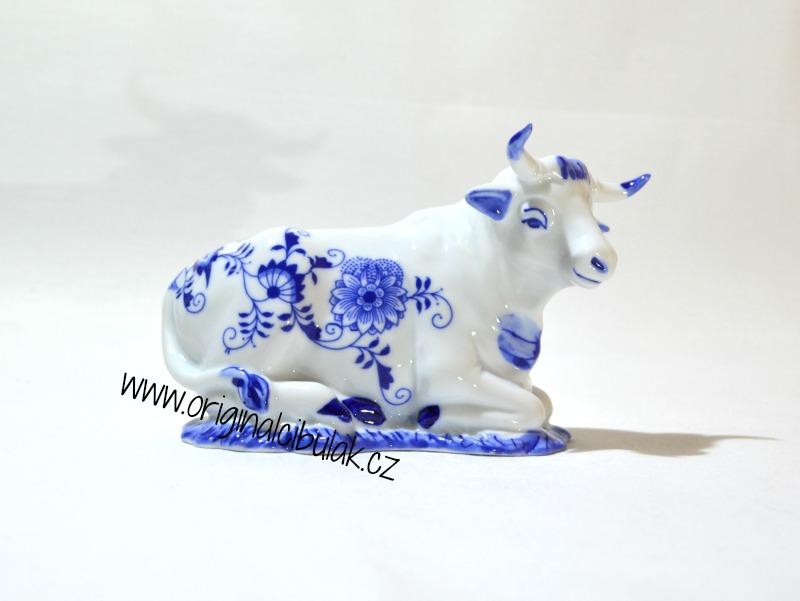 Cibulák Volek 9,5 cm originální cibulákový porcelán Dubí, cibulový vzor, 1.jakost