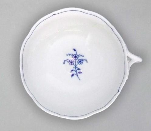 Cibulák Šálek bujón s 1 ouškem 0,30 l originální cibulákový porcelán Dubí, cibulový vzor, 1.jakost