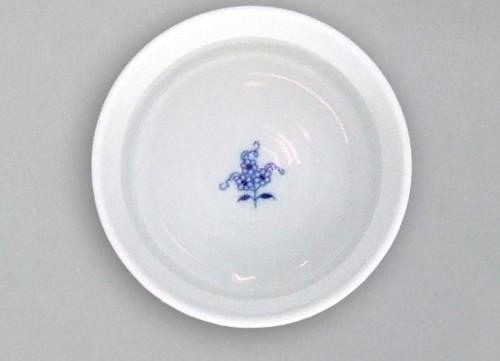 Cibulák Miska zapékací Mufi 0,20 l originální cibulákový porcelán Dubí, cibulový vzor, 1.jakost