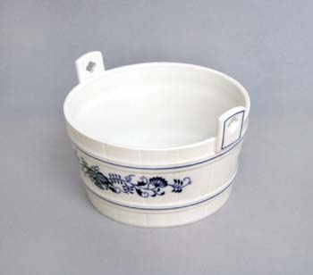 Cibulák Díže 16,3 cm originální cibulákový porcelán Dubí, cibulový vzor, 1.jakost
