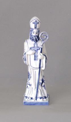 Cibulák Mikuláš - Dux 26 cm originální cibulákový porcelán Dubí, cibulový vzor 1. jakost