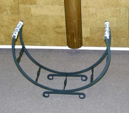Cibulák Krbový koš na dřevo 72 cm, originální cibulákový porcelán Dubí, cibulový vzor, 1.jakost -20%akce
