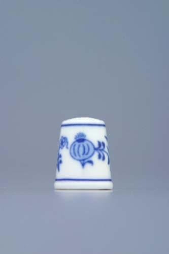 Cibulák Náprstek 2,7 cm originální cibulákový porcelán Dubí, cibulový vzor 1. jakost 20047-206