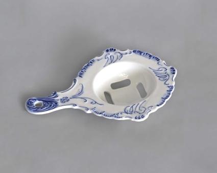 Cibulák Oddělovač bílku 17 cm originální cibulákový porcelán Dubí, cibulový vzor 1. jakost 10667
