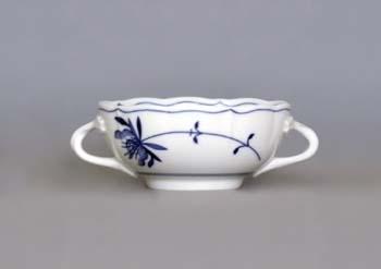 Šálek bujón s 2 oušky, 0,30 l, ECO cibulák, cibulový porcelán Dubí 1.jakost