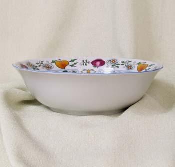 Mísa kompotová vysoká 21 cm NATURE barevný cibulák, cibulový porcelán Dubí 1.jakost