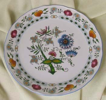 Talíř klubový 30 cm NATURE barevný cibulák, cibulový porcelán Dubí 1.jakost