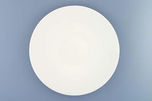 Talíř mělký Bohemia White 28 cm design prof. arch. Jiří Pelcl, cibulový porcelán Dubí 1. jakost