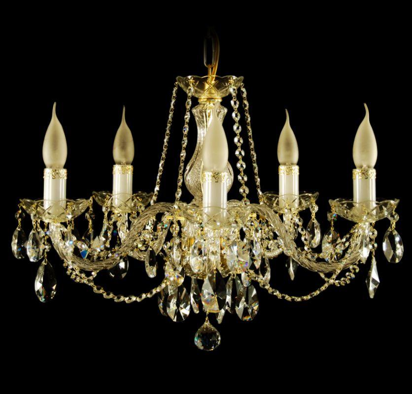 Křišťálový lustr Nisa 5 výrobce Aldit 58 cm křišťálové lustry nisa 5