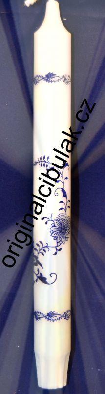 cibulák svíčka 1 ks cibulový vzor dlouhá