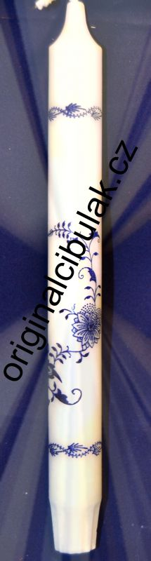 svíčka cibulák 10 ks Akce -50% cibulový vzor dlouhá