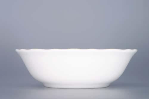 Miska porcelán bílý kompotová vysoká 14 cm Český porcelán Dubí 1.jakost