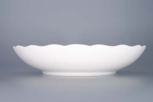 Mísa porcelán bílý kompotová 24 cm Český porcelán Dubí 1.jakost