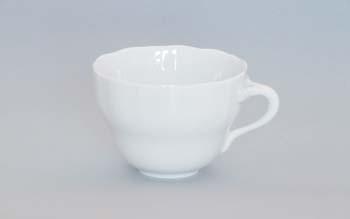 Šálek porcelán bílý vysoký A, 0,08 l,Český porcelán Dubí 1.jakost 10010b