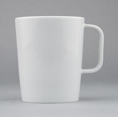 Hrnek porcelánový bílý Hotelový 0,27l Český porcelán Bohemia 1.jakost 10518h
