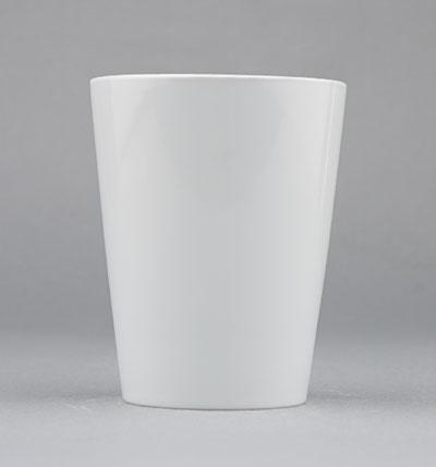 Pohárek porcelánový bílý Hotelový 0,225l Český porcelán Bohemia 1.jakost 10519h
