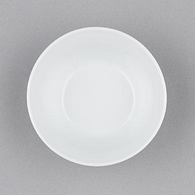 Podšálek porcelánový bílý Hotelový pod hrnek 14,5cm Český porcelán Bohemia 1.jakost 10557h