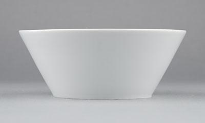 Miska porcelánová bílá Hotelová na polévku 0,4l Český porcelán Bohemia 1.jakost 10514h