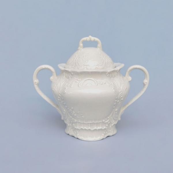 Cukřenka porcelánová bílá Opera 0,20 l Český porcelán Dubí 71000