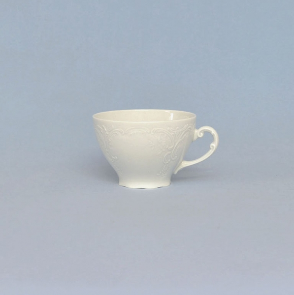 Šálek čajový porcelánový bílý Opera Český porcelán Dubí 11009