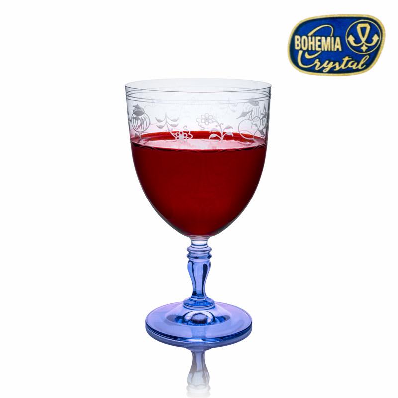 Skleničky na vodu, červené víno Crystalex Gloria 350 ml 6 ks Cibulák K0210