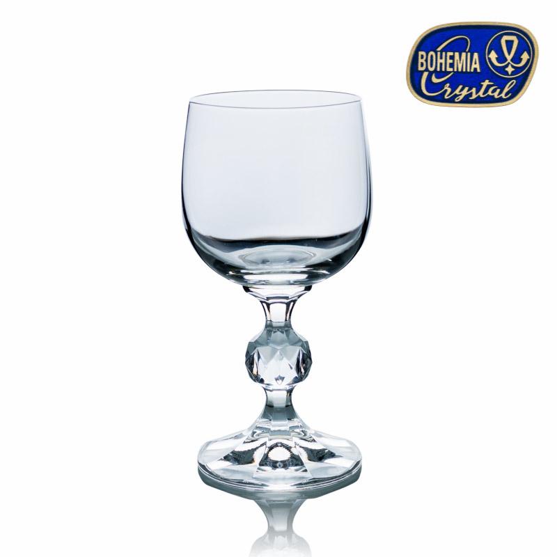 Skleničky na víno bílé Claudia 150 ml 6 ks Crystalex CZ