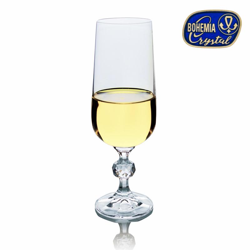 Sklenice na víno šampaňské Claudia 180 ml 1 ks Crystalex CZ 40149/180