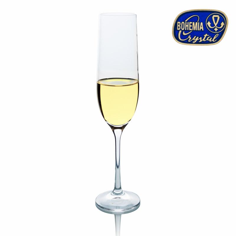 Sklenice na víno šampaňské Viola 190 ml 1 ks Crystalex CZ 40729/190