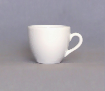 Šálek bílý Milada 09 Český porcelán a.s. Dubí 20186/0000