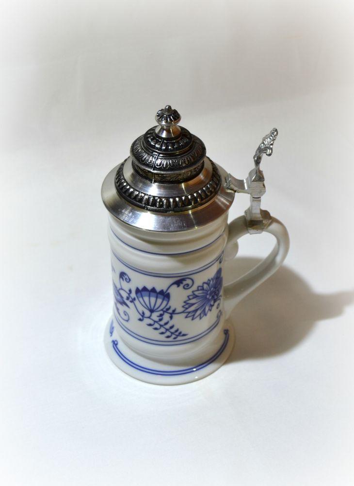 cibulák korbel ozdobný Leander cibulákový porcelán 20114114