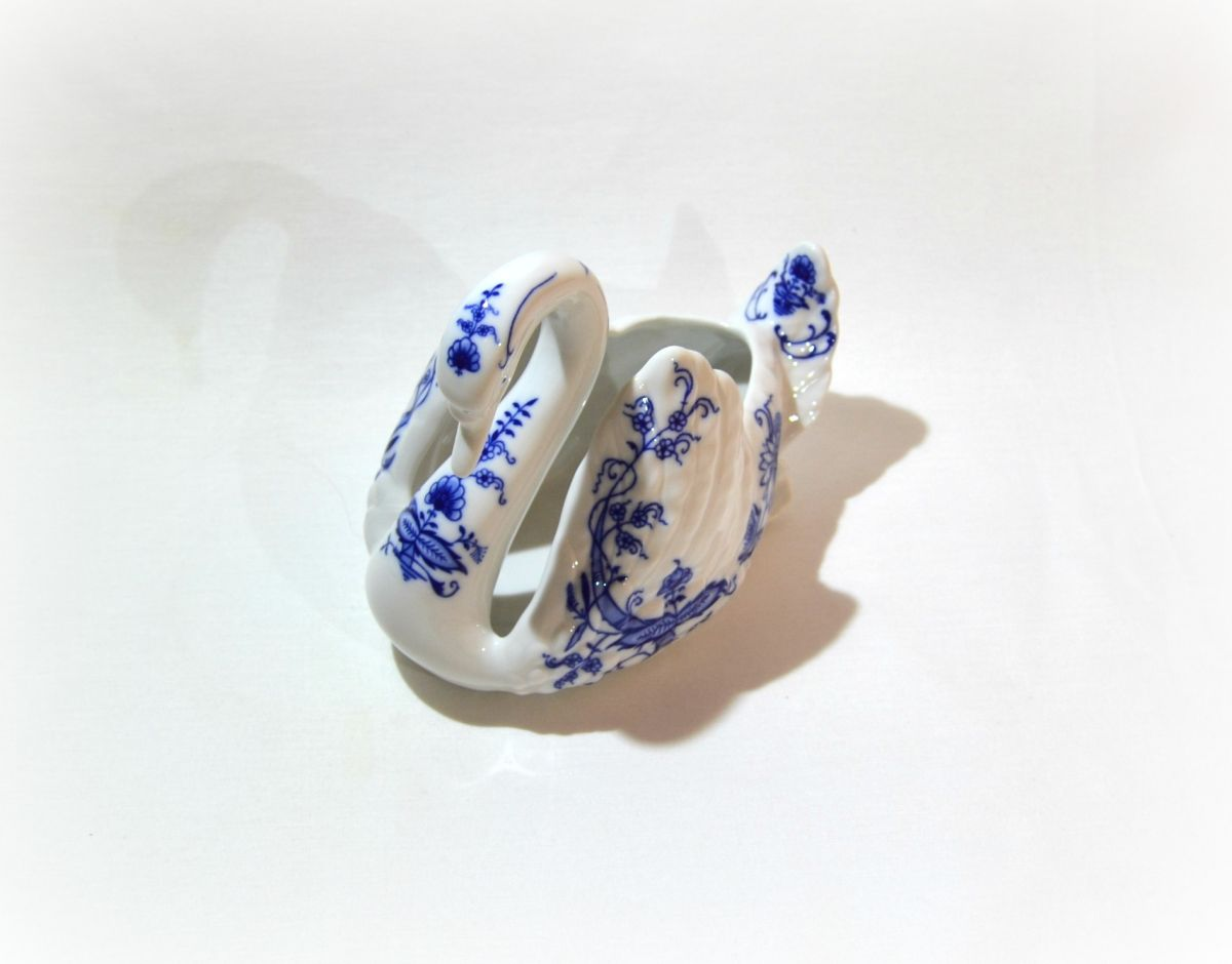 cibulák labuť Leander cibulákový porcelán 20118428