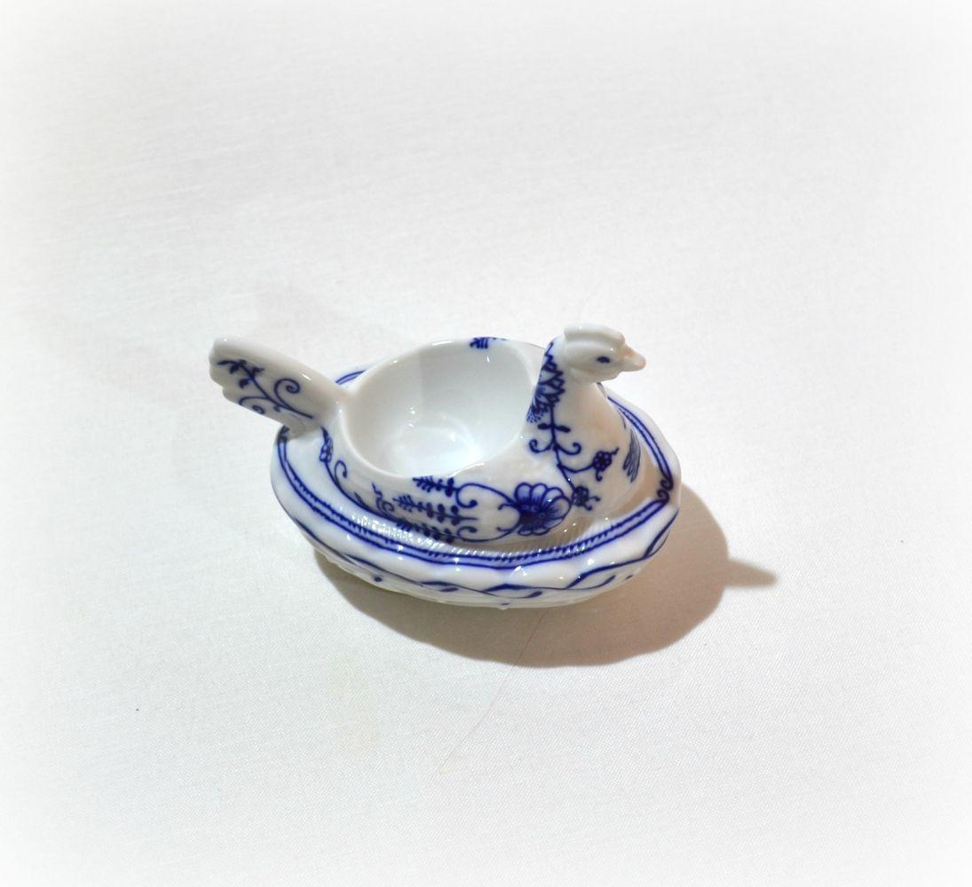 cibulák slepice - kalíšek na vejce Leander cibulákový porcelán 21110814