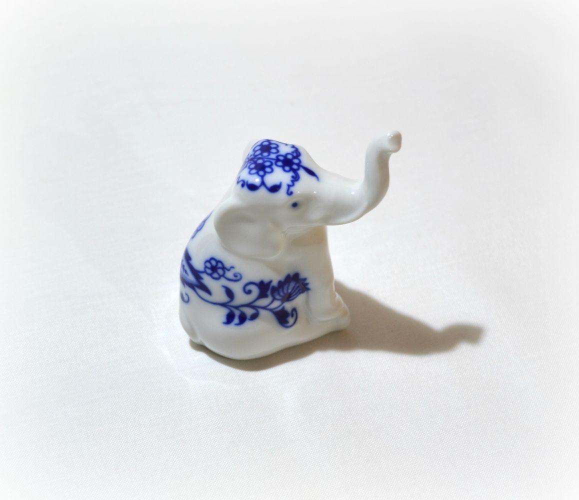 cibulák slon Leander cibulákový porcelán 21118515