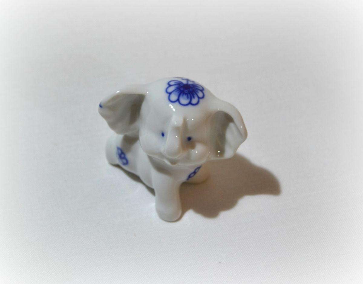 cibulák slon Bimbo mini Leander cibulákový porcelán 21118511