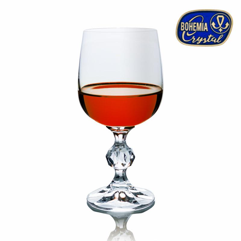 Skleničky na víno červené Claudia 340 ml 6 ks Crystalex CZ 40149/340