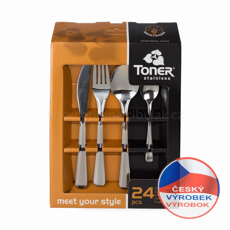 příbory Gastro Toner 24 dílů 6060 6060