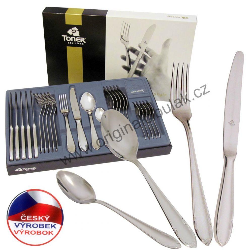 Vidlička jídelní Classic Gold zlacená 1 ks Toner nerez 600602G1