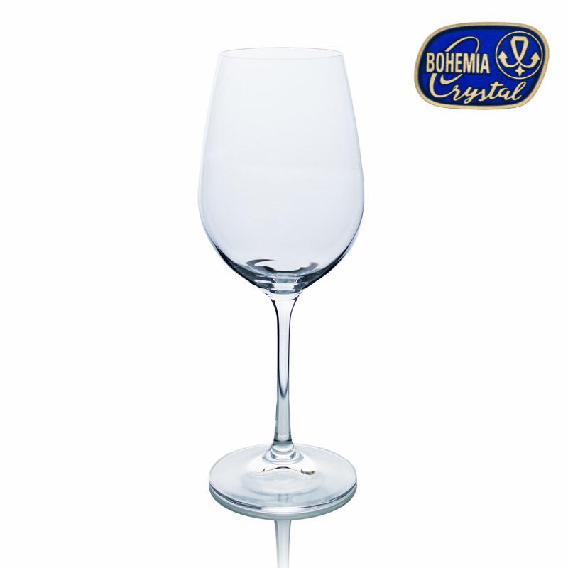 Skleničky na víno červené Viola 550 ml 6 ks Crystalex CZ 40729/550