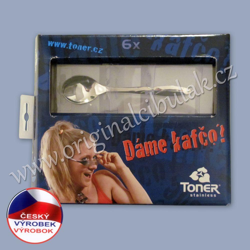 Sada lžiček na kávu Toner Gotik 6044 dárkové balení 6 ks 60443726
