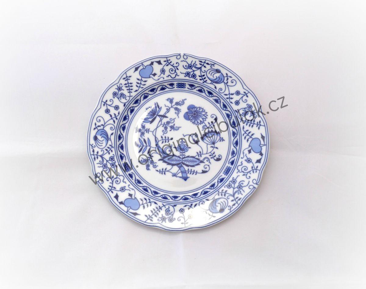 cibulák talíř dezertní 19 cm Leander cibulákový porcelán 03160319