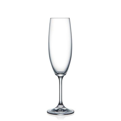 Sklenice na šampaňské Lara 200 ml 6 ks Crystalex CZ 40415/220