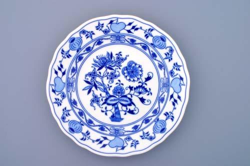 Talíř cibulák mělký 24cm originál cibulákový vzor, cibulový porcelán Dubí-