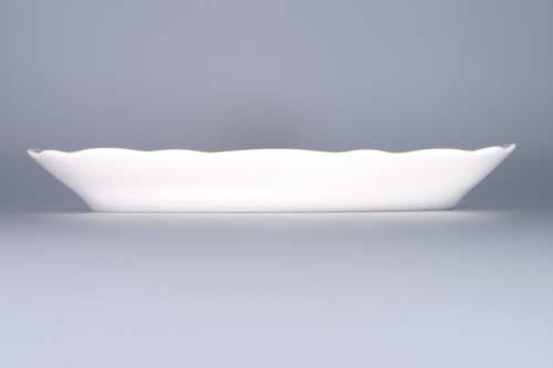 Cibulák mísa oválná 31 cm, originální cibulákový porcelán Dubí, cibulový vzor,