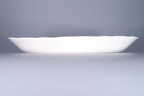 Cibulák mísa oválná 43 cm originální cibulákový porcelán Dubí, cibulový vzor,