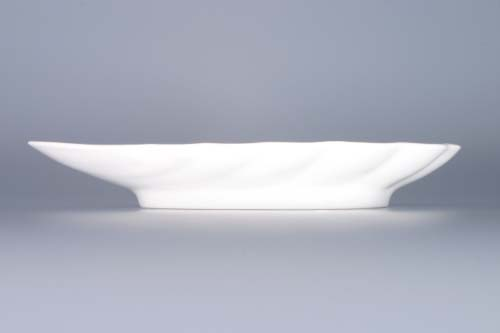 Cibulák miska mušle 23 cm originální cibulákový porcelán Dubí, cibulový vzor,