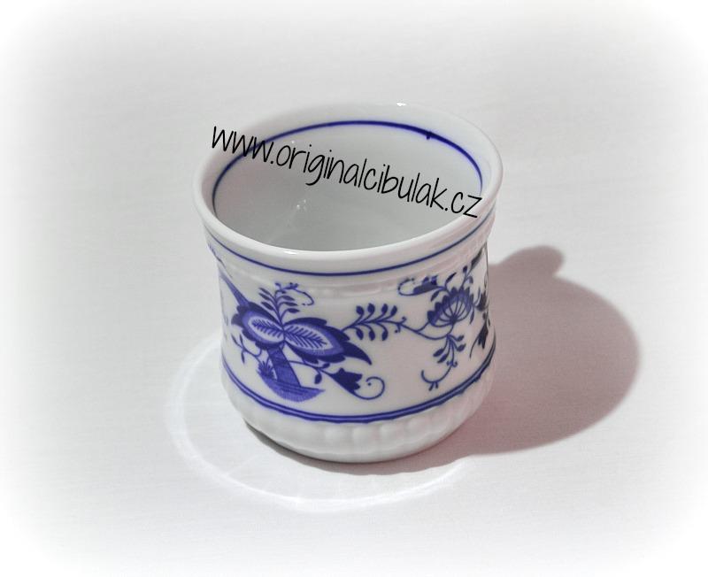 Cibulák hrnek Perlový malý 0,26 l originální cibulákový porcelán Dubí, cibulový vzor,