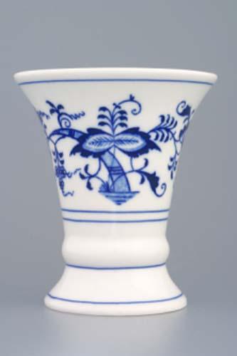 Cibulák váza 1213, 12 cm originální cibulákový porcelán Dubí, cibulový vzor,