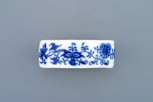 Cibulák kroužek na ubrousky bez růže 7,5 cm originální cibulákový porcelán Dubí, cibulový vzor,